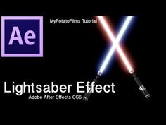 ▶ Lightsaber Effect Part 1 - Adobe After Effects CS6 Tutorial - YouTube