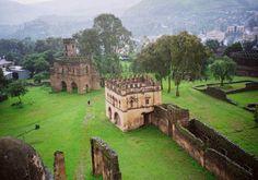 Gondar's castles, Ethiopia
