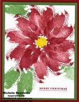 Work of Art card by Michelle Hundertmark.  Also uses Teeny Tiny Wishes Set.  Products by Stampin' Up!