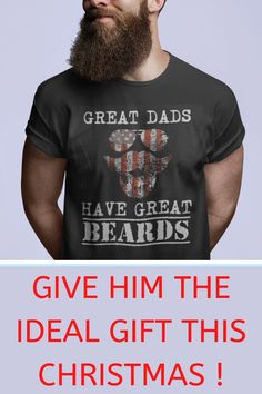 Great Dads Have Great Beards on Xmas Day! | present dad, gifts for dad, dad christmas gifts, christmas presents for dad, holiday presents for parents, diy gifts for dad, christmas gifts for dads, gift idea for dads Diy Father's Day Crafts, Father's Day Diy, Fathers Day Crafts, Diy Gifts For Dad, Dad Gifts, Parent Gifts, Christmas Presents For Dad, Christmas Ideas, Christmas Gifts