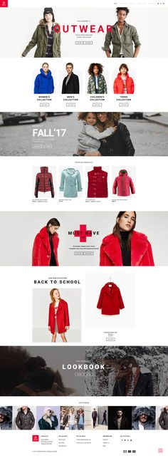 Shopify Template , GoodWeather - Outdoor Clothing