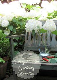 COTTAGE AND VINE: Gardening Essentials