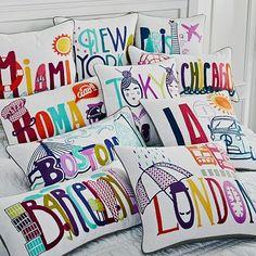 Destination Pillow Cover