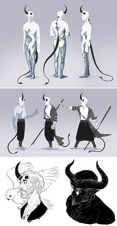 DnD: Sorcerer Tiefling Otho sketchdump by coupleofkooks on DeviantArt – Character design & drawing Character Design Inspiration, Fantasy Characters, Character Design, Character Inspiration, Fantasy Artwork, Art Reference Poses, Fantasy Art, Creature Art, Fantasy Character Design