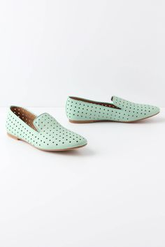 Perforated Loafers - Anthropologie.com OMG I need this now
