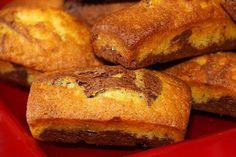 Mini marbrés au chocolat : la recette facile