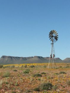 Karoo scene -- South Africa Wind Mills, Madison County, Big Sky Country, Out Of Africa, Game Reserve, Water Tower, Continents, Beautiful Landscapes, Places To Travel