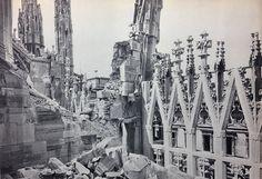 1943 Agosto Duomo di Milano Bombardato 10 | da Milàn l'era inscì