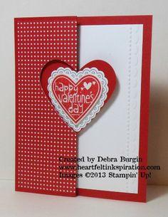 Debra Burgin 1301 CH #1-swing heart valentine