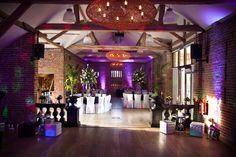 An evening wedding reception - Castle Barn, Wasing Park
