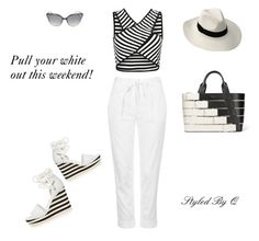 """Pull Your White Out!"" by quintan ❤ liked on Polyvore featuring Topshop, MaxMara, Jimmy Choo and Balenciaga"