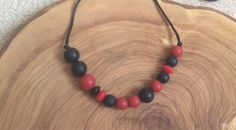 A personal favourite from my Etsy shop https://www.etsy.com/uk/listing/538608638/black-jack-grunge-teething-necklace-in