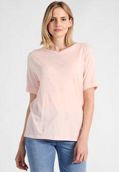 O'Neill LOGO - T-shirt print - strawberry cream - Zalando. Print T Shirts, Fashion Prints, Fashion Design, Strawberries And Cream, Strawberry, V Neck, Logos, Women, Women's