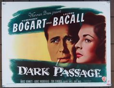 "via #IVPDA member MovieArt Original Film Posters ""MovieArt Austin is very pleased to offer an original U.S. half-sheet poster for Dark Passage (1947) https://www.movieart.com/dark-passage-1947-26022/""   #MoviePosters #VintagePosters"
