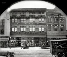 "Shorpy Historic Picture Archive Washington, D.C., 1919. ""McCrory's 5 and 10 Cent Store, Seventh Street N.W."" National Photo Company Collection glass negative."