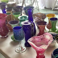 Handblown glass created in the Conservatory's Hot Shop is 50% off through July 19.