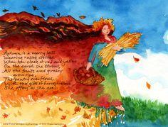 autumn table verse