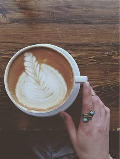 Lazy latte moments.
