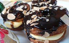 Resep Kue: Kraftkorn Cronut Cronut, Fun Desserts, Doughnut, Sweets, Snacks, Food, Appetizers, Gummi Candy, Candy