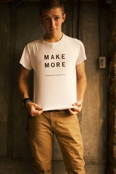 Mens T Shirt Womens T Shirt Minimalist Black on by LukeLampCo
