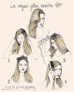 She Lets Her Hair Down: Tutorial :: Glamorous 40s Waves