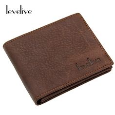 5c5ff91aeafb ... LEVELIVE Brand Genuine Cow Leather Bifold Wallet Men Casual Real  Cowhide ID Card Holders Mens Wallets Male Carteira Masculina from Reliable wallet  pouch ...
