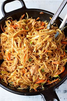 For Chicken: 1 Cup Chicken,thigh meat,bite sized pieces As per need Salt 1 tsp Soy Sauce tsp Cornstarch 1 tsp Vegetable Oil Chicken Stir Fry With Noodles, Fried Noodles Recipe, Stir Fry Noodles, Chicken Noodle Recipes, Asian Noodles, Egg Noodles, Ramen Noodles, Egg Noodle Stir Fry, Stir Fry With Egg