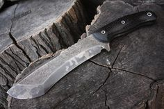"""Handcrafted FOF """"Troublemaker"""", survival, defense or tactical fixed blade full tang knife"""