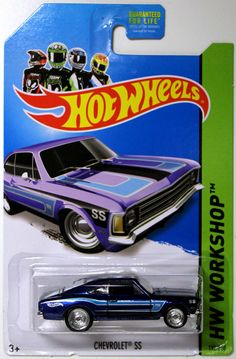 2014 Hot Wheels Secret Super Treasure Hunt Chevrolet SS #199