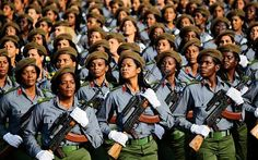 cuban military  | Cuban soldiers march during a military parade in Havana's Revolution ...