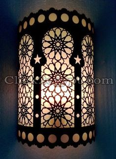 Handmade Islamic Half Cylindrical Brass Wall Decor Sconce | eBay