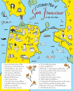 A Literary Map of San Francisco