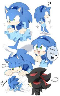 Sonic-Ria by Unichrome-uni on DeviantArt Silver The Hedgehog, Shadow The Hedgehog, Sonic The Hedgehog, Sonic Underground, Sonic Funny, Villainous Cartoon, Sonic Franchise, Sonic Adventure, Sonic Screwdriver