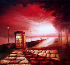 Bob Barker is a UK based artist, born and bred in Yorkshire. It's taken Bob Barker twenty years for his long time love of painting to evolve from a hobby to the point where interest in his work has taken on worldwide awareness. Art After Dark, Irish Painters, Artist Names, Art Boards, Painting & Drawing, Sculpture Art, Big Ben, Photo Art, Glass Art