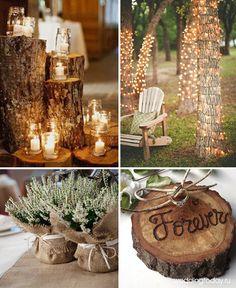 Декор и оформление свадьбы в стиле рустик. Фото | Weddingtoday.ru