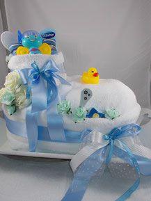 Windeltorte, Geschenk, Geburt, Baby, Windel, Babyschuh, Baby Shower, Erstlings Set,rosa, Mädchen, Junge, Blau, Überraschung,