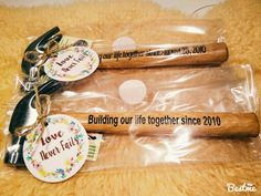 Wedding anniversary build our life together hammer