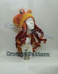 Octopus hat - pattern