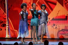 Tony Awards - (L-R) Gladys Knight, Fantasia Barrino and Patti Labelle perform onstage during the 2014 Tony Awards. Credit: Theo Wargo/Getty Images