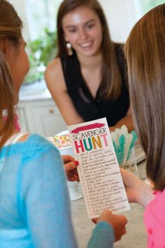 A Sweet 16 Birthday Scavenger Hunt