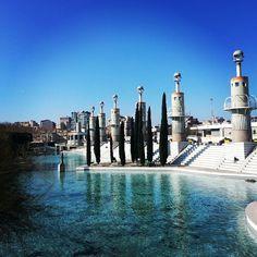 Bassa Neptú - Parc de l'Espanya Industrial #Barcelona