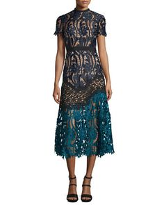 Floral-Lace+Prairie+Midi+Dress+by+Self-Portrait+at+Bergdorf+Goodman.