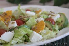 Cocina compartida: Ensalada variada de primavera
