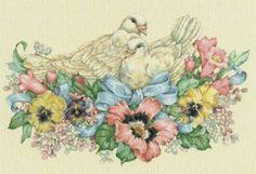 голуби - Схемы вышивки - 1светлана37 - Авторы - Портал «Вышивка крестом»
