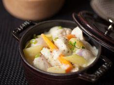 Blanquette de volaille, légumes d'automne et riz pilaf
