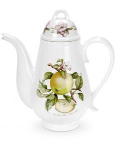 Portmeirion - Pomona Coffee Pot - featuring The Lane's Prince Albert Apple
