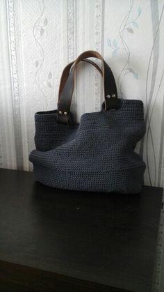 Вязаная сумка крючком Crochet Purses, Crochet Bags, Diy Crochet And Knitting, Handmade Bags, Diy And Crafts, Handbags, Boho, Crochet Pouch, Strands