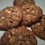 White Chocolate Chip Oatmeal Lace Cookies