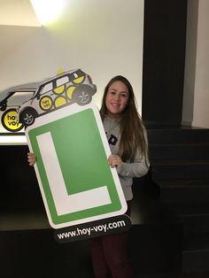 LAURA BARRACHINA!!! #hoyvoy #autoescuela #hospitalet