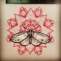 dot work butterfly tattoo - Google Search